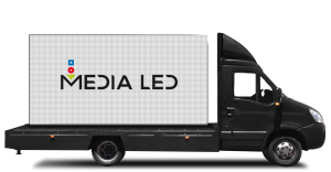Camión doble pantalla Medialed