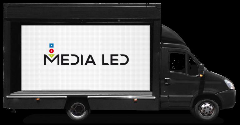Camión MediaLed pantalla simple