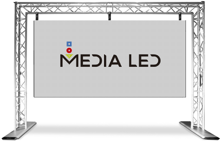 Truss Medialed pantalla modulable