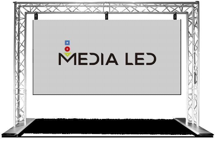Truss Medialed pantalla modulable